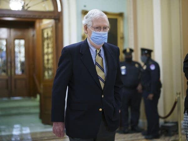Senate Minority Leader Mitch McConnell, R-Ky.
