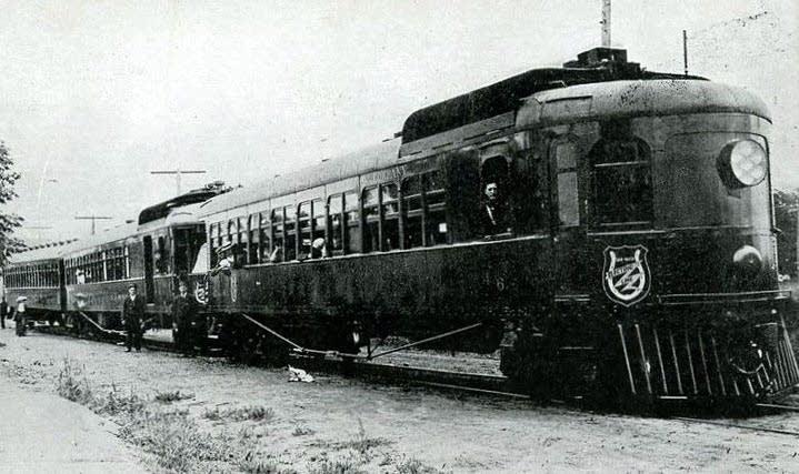 Dan Patch rail car
