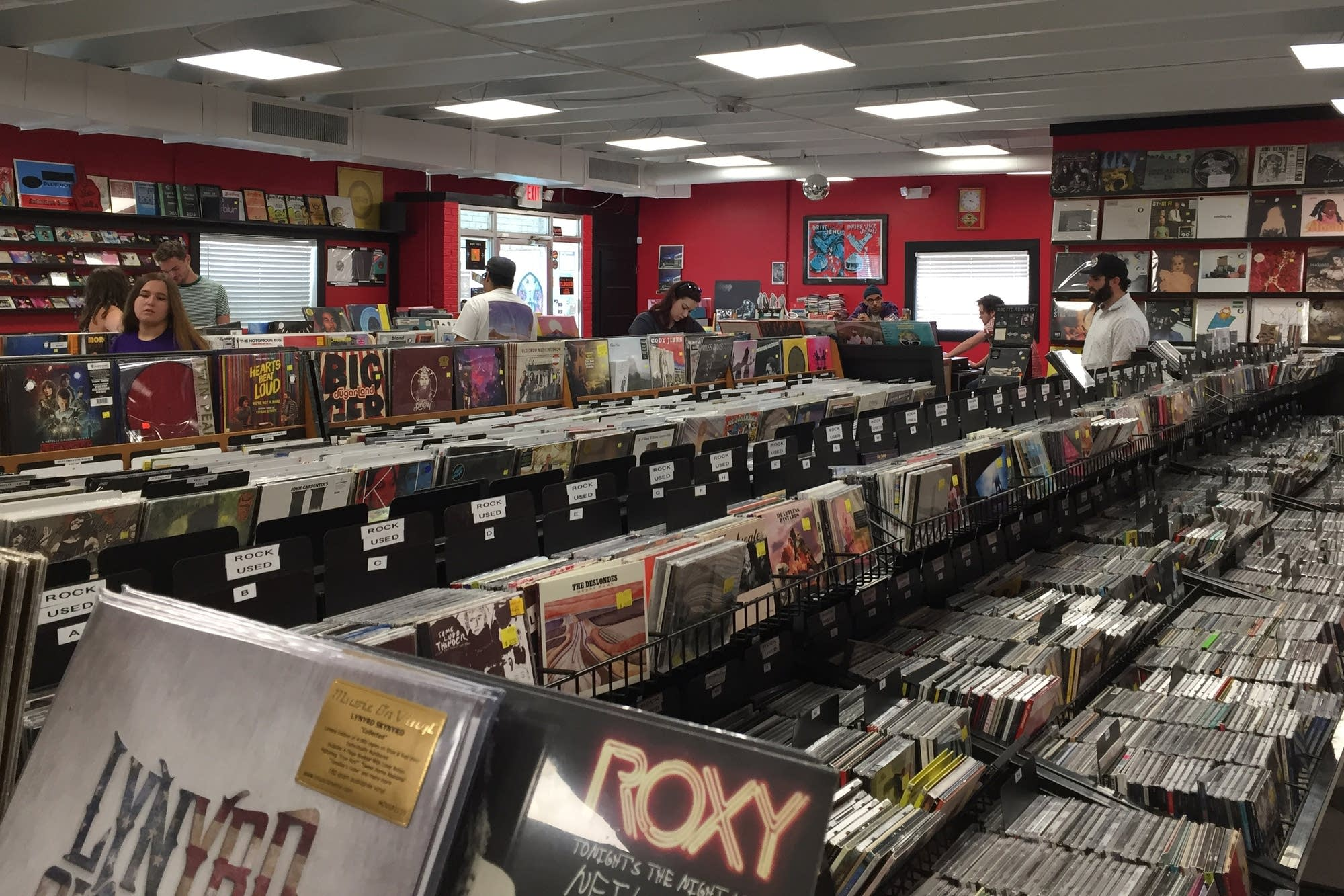 Lunchbox Records in Charlotte, N.C.