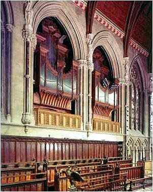1994 Mander organ at Saint John's College Chapel, Cambridge, England, UK