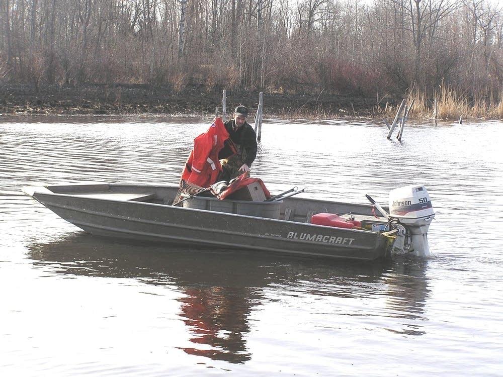 Patin boat