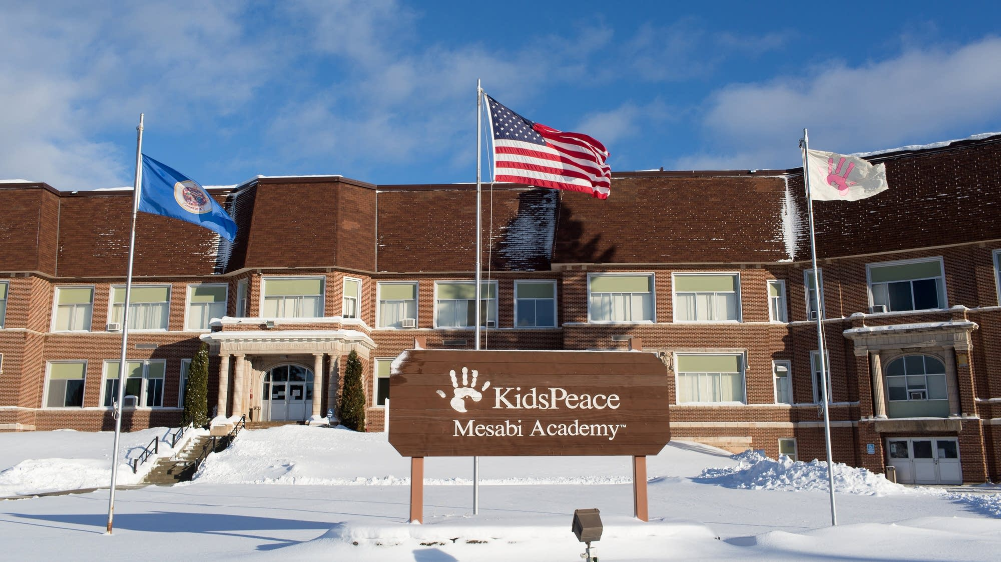 Mesabi Academy operates in a former high school.