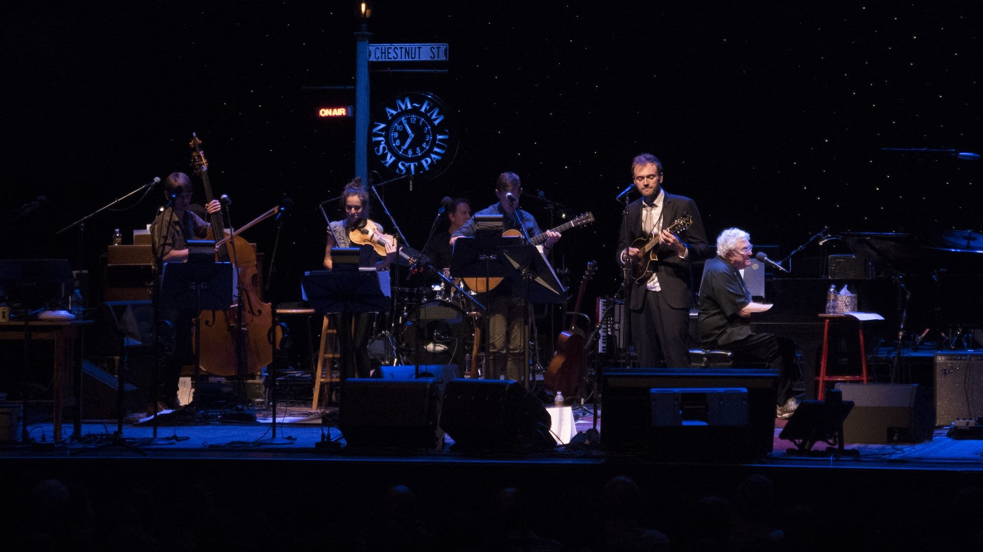 """""""You've Got a Friend in Me"""" -- Randy Newman with Chris and the band"""