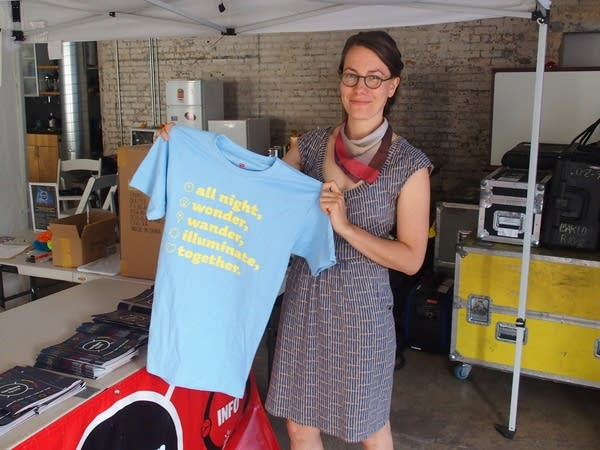 Northern Spark Associate Director Sarah Peters