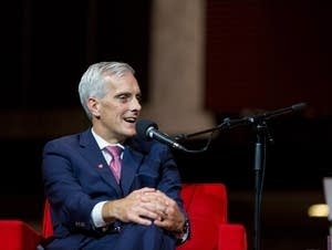 Denis McDonough at the Eugene McCarthy Lecture at St. John's University.