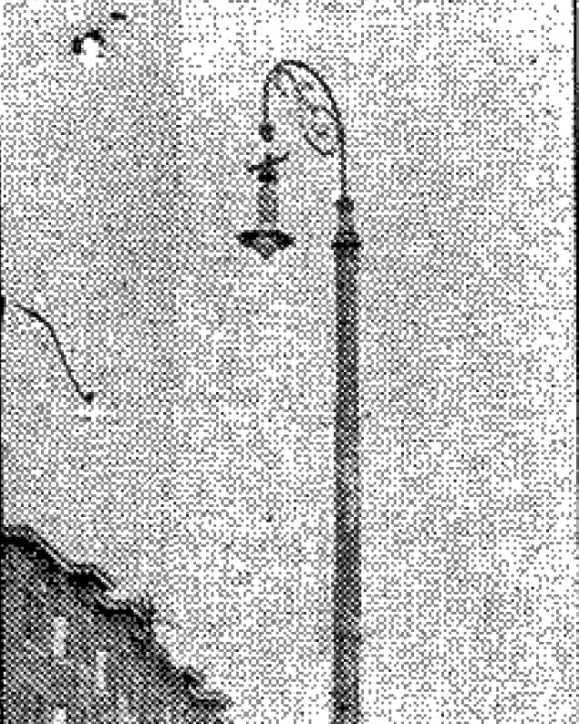 Where hanging took place on Sixth Avenue East and First Street.