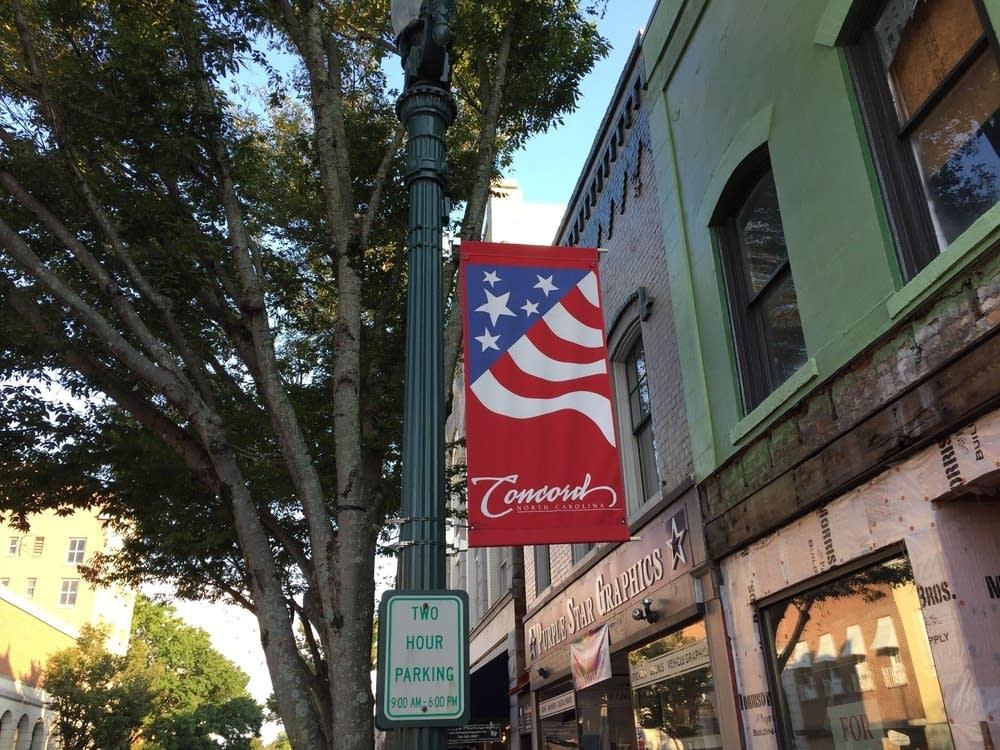 Union Street in Concord North Carolina