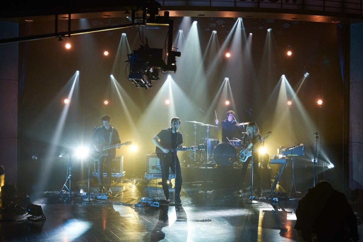 Lo Moon perform on 'The Late Late Show with James Corden'