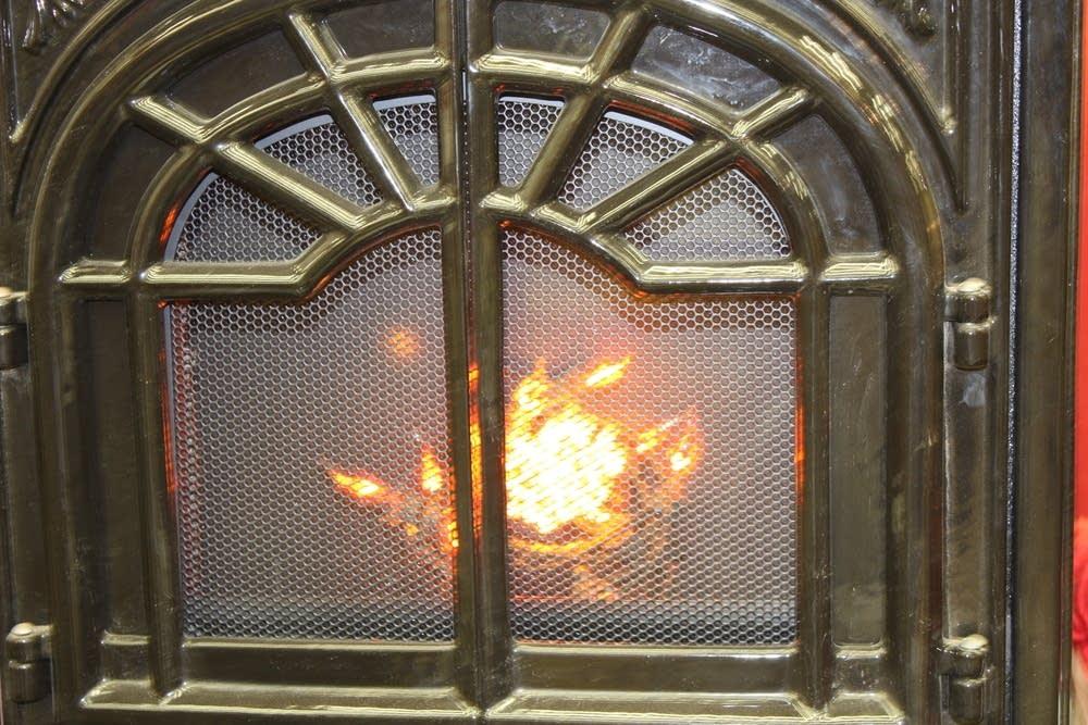 corn stove