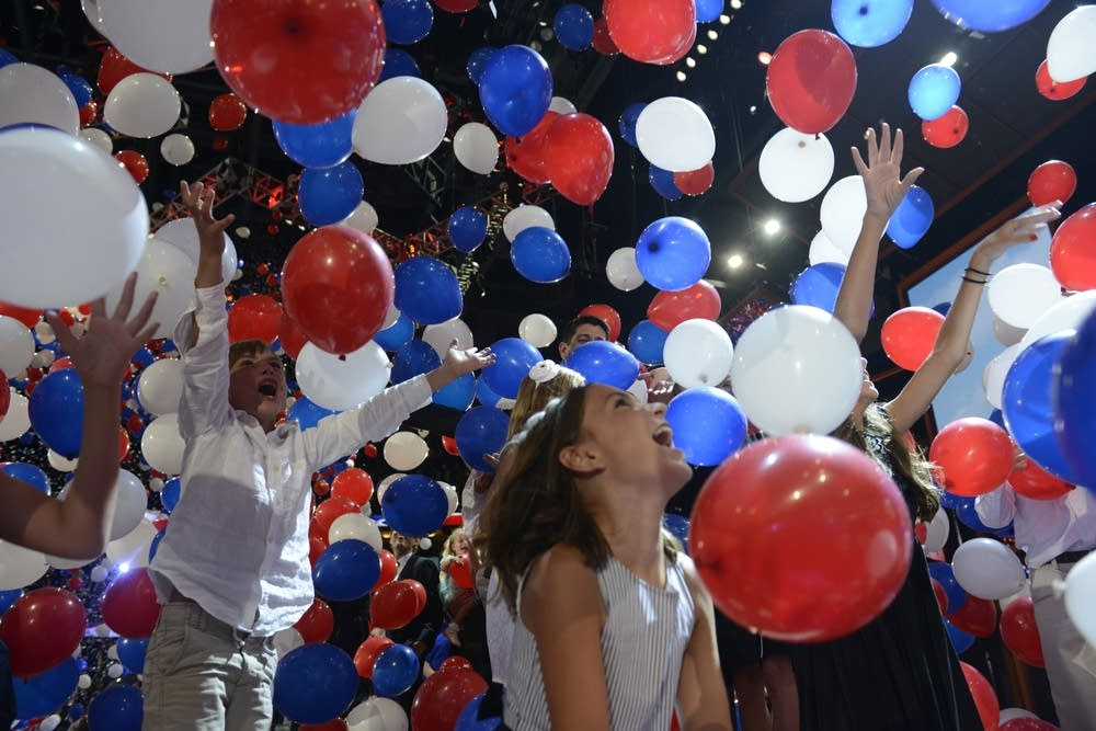 Republican National Convention balloons