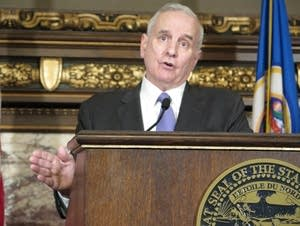 Gov. Mark Dayton on Feb. 23, 2017.