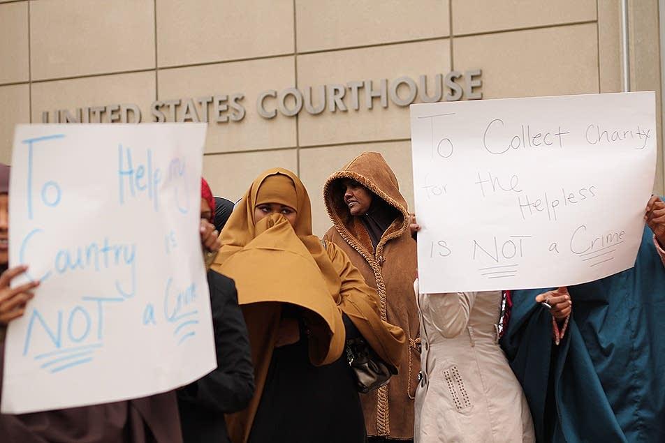 Protesting prosecution
