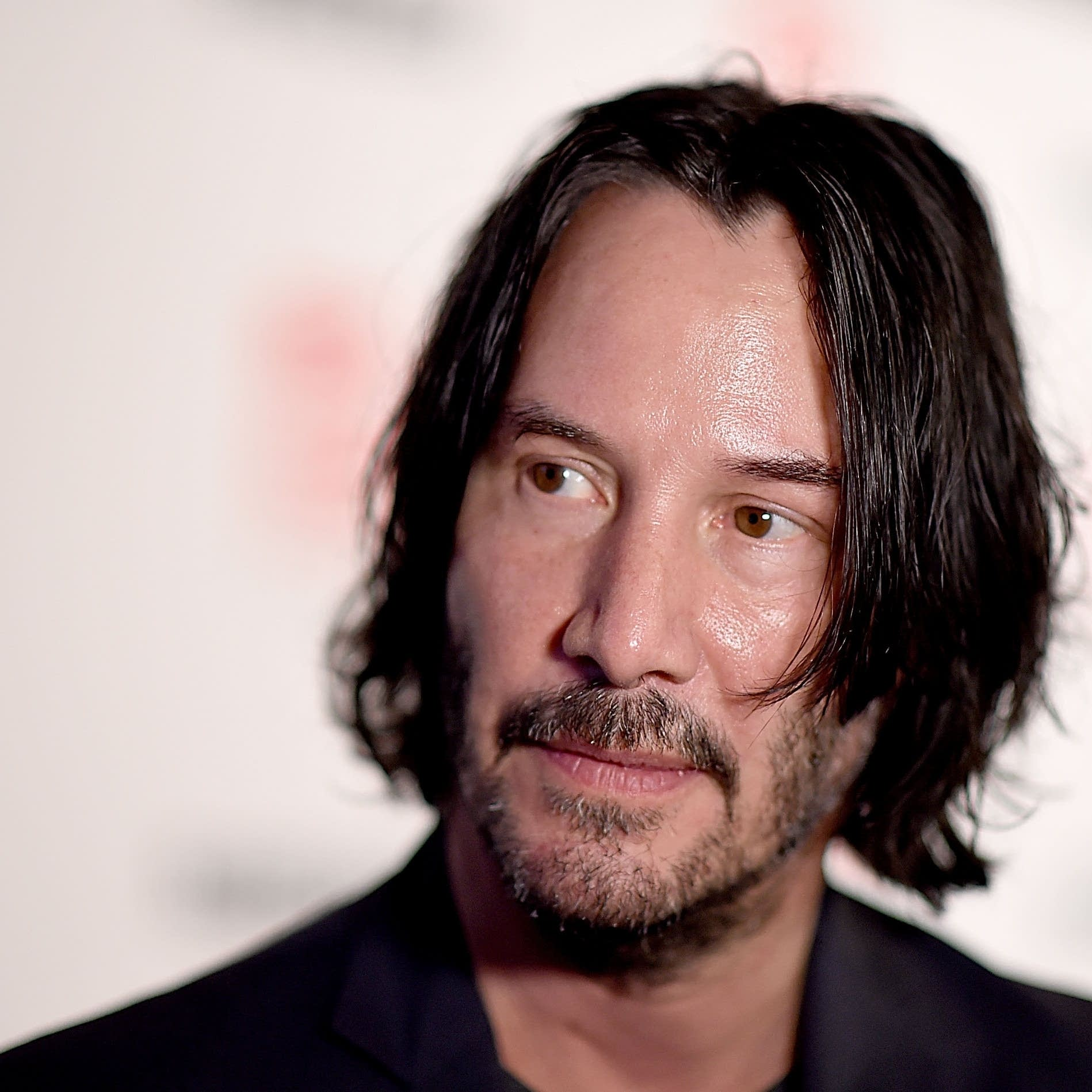 Keanu Reeves at a film premiere in 2018.