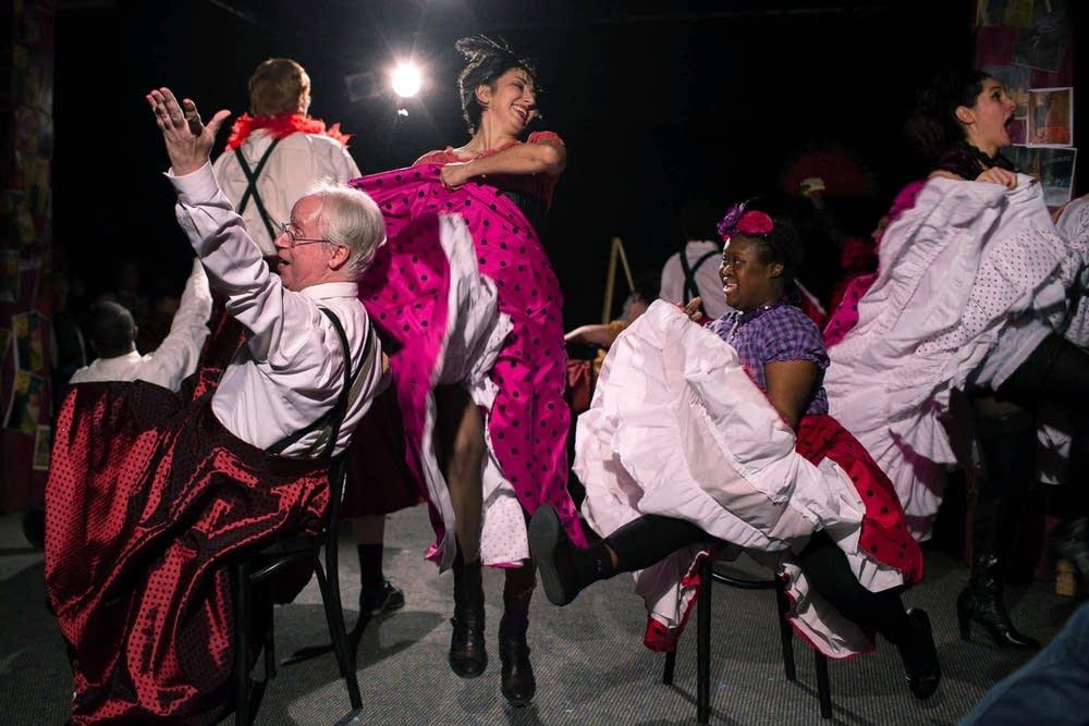 Madame Josette's cancan dancers