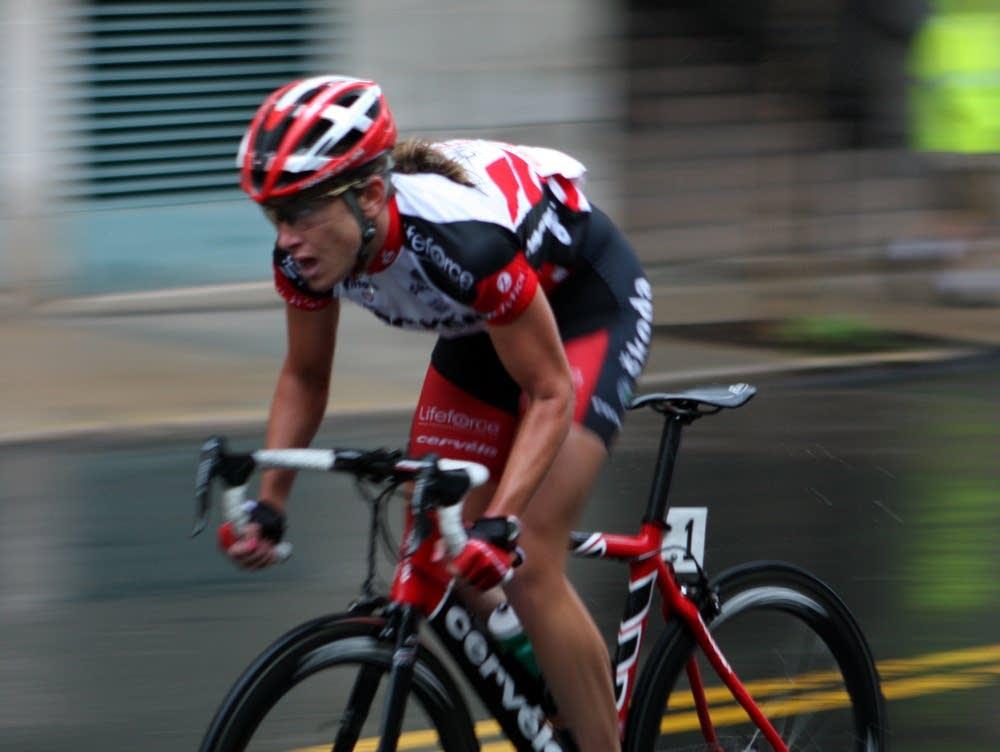 Bike racer Kristin Armstrong
