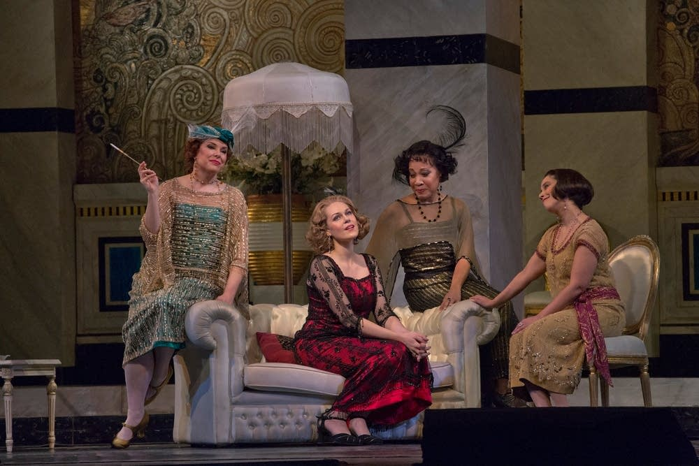 A scene from Puccini's