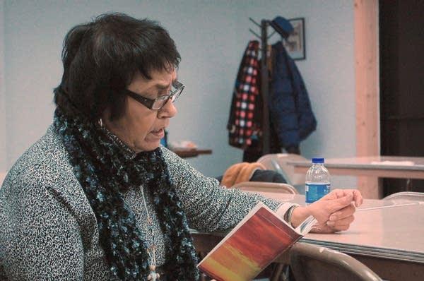 White Earth Tribal Chair Erma Vizenor