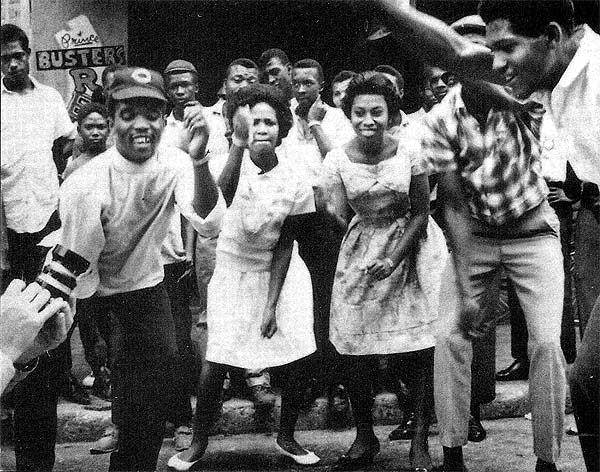 Prince Buster and friends dancing the ska.