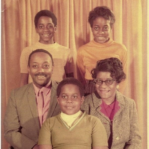 Moore family in 1967