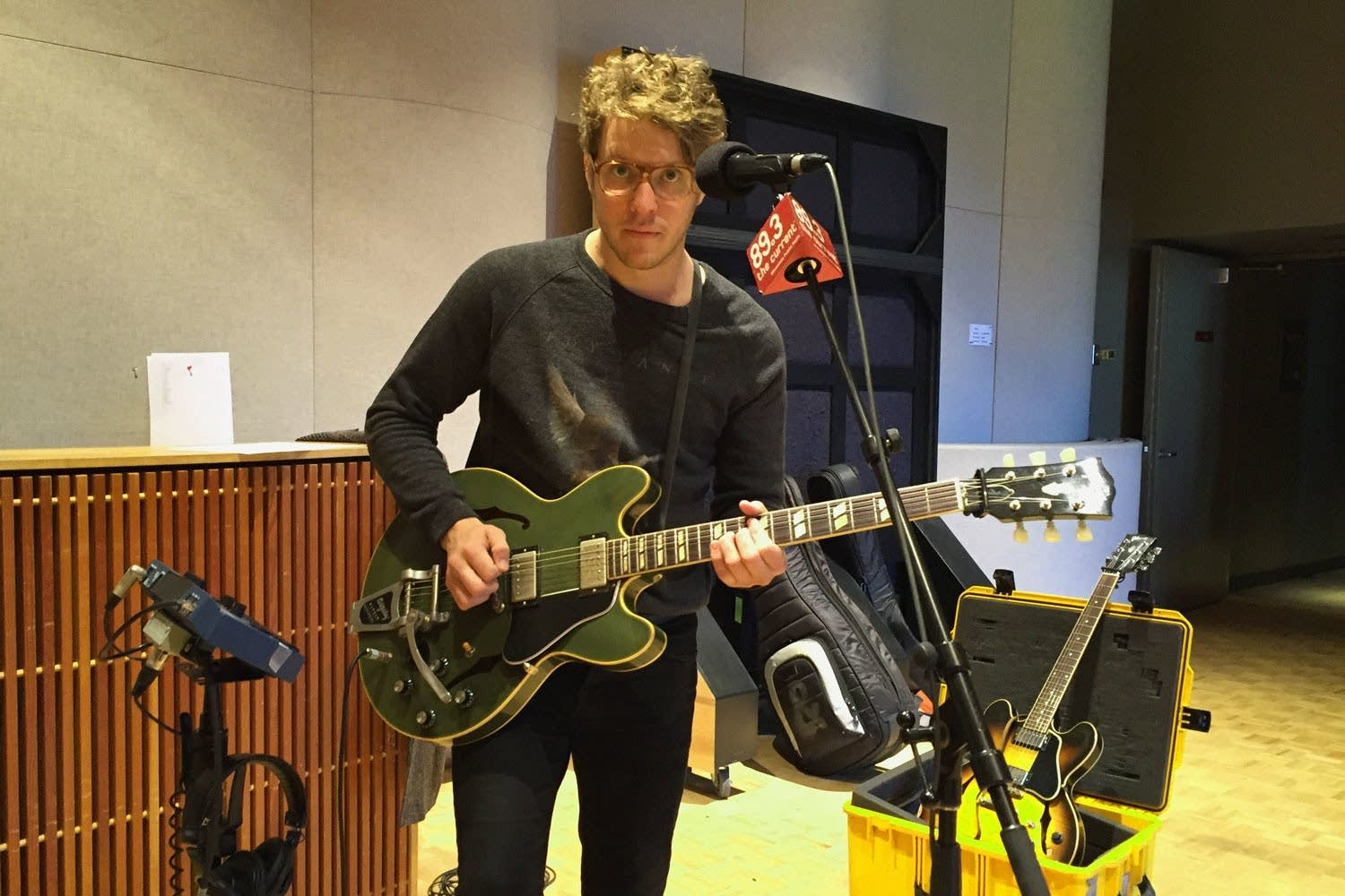 Anderson East performs in The Current studio