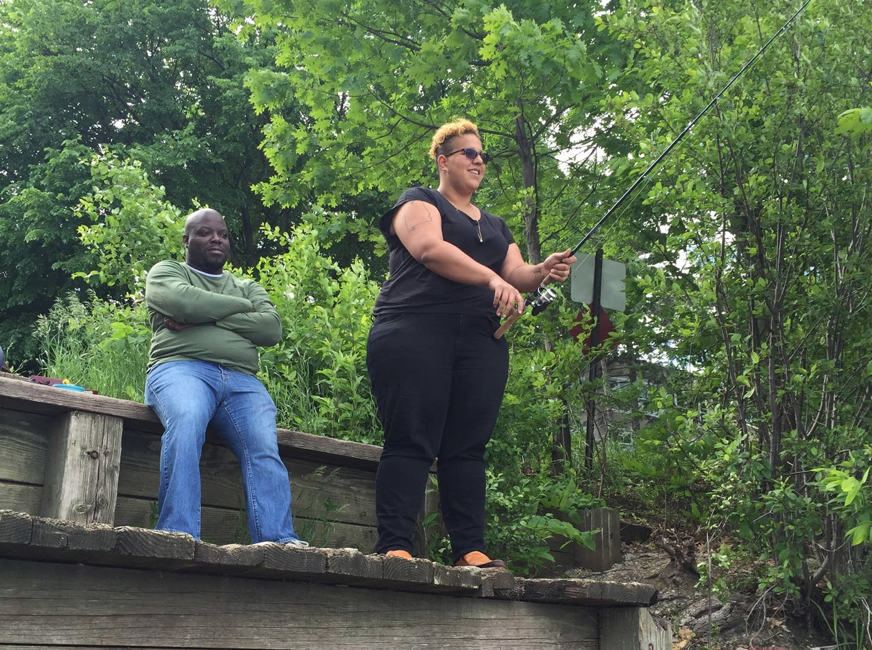 Lloyd and Brittany of Alabama Shakes go fishing