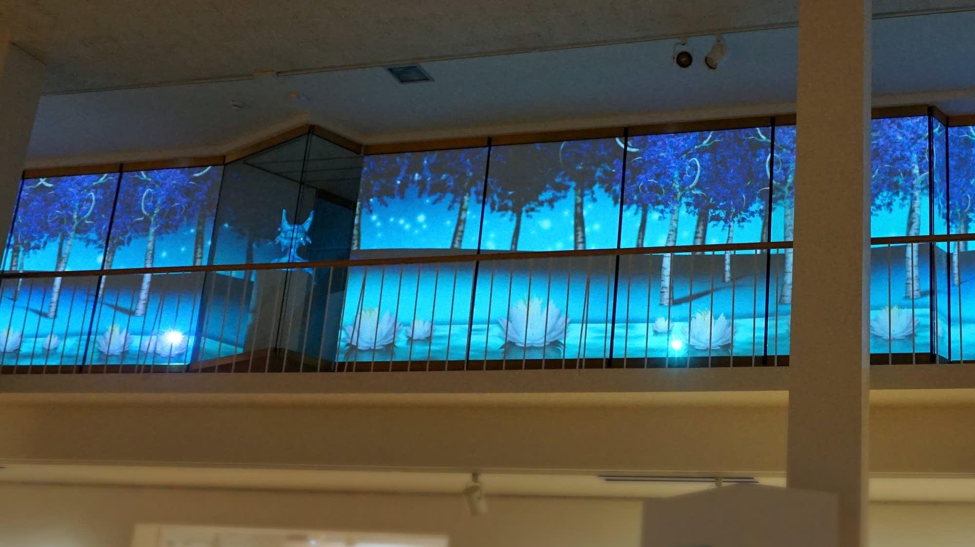 "Installation of Jonathan Thunder's ""Star Women"""