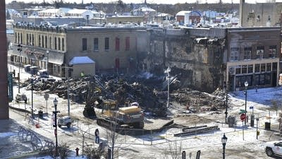 Downtown St. Cloud starts cleanup after Press Bar fire
