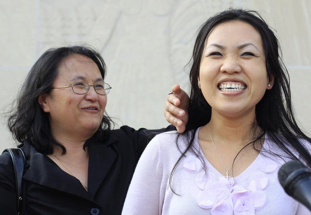 Lee's wife Panghoua Moua