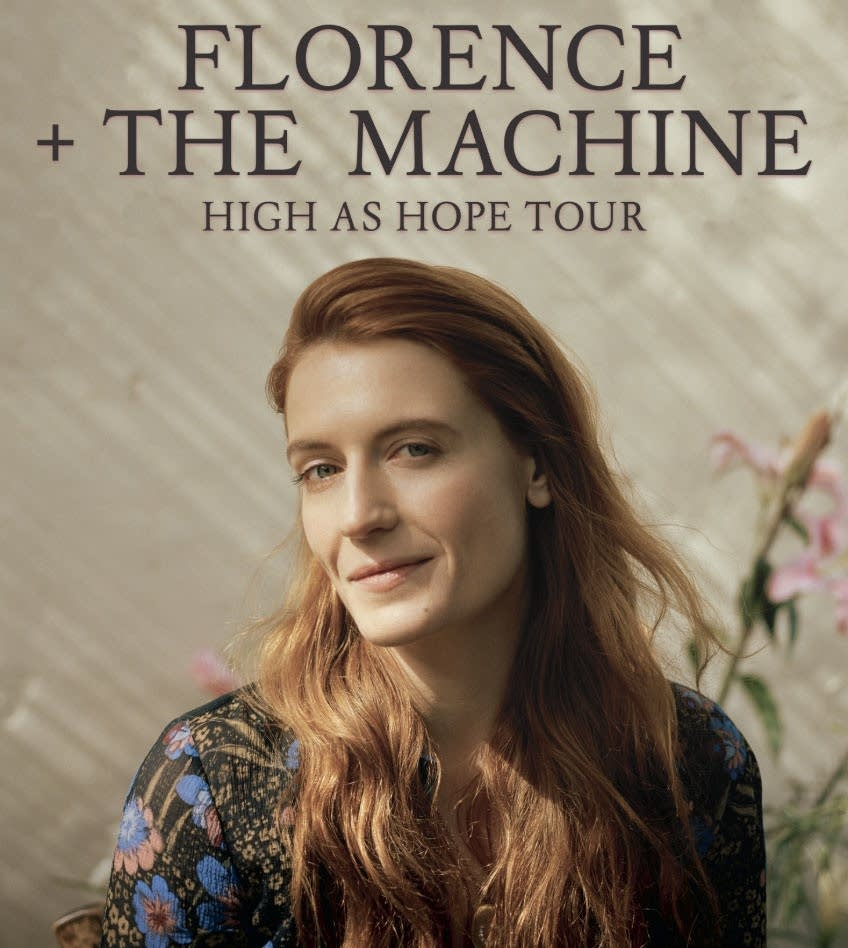 Florence + The Machine: High as Hope Tour