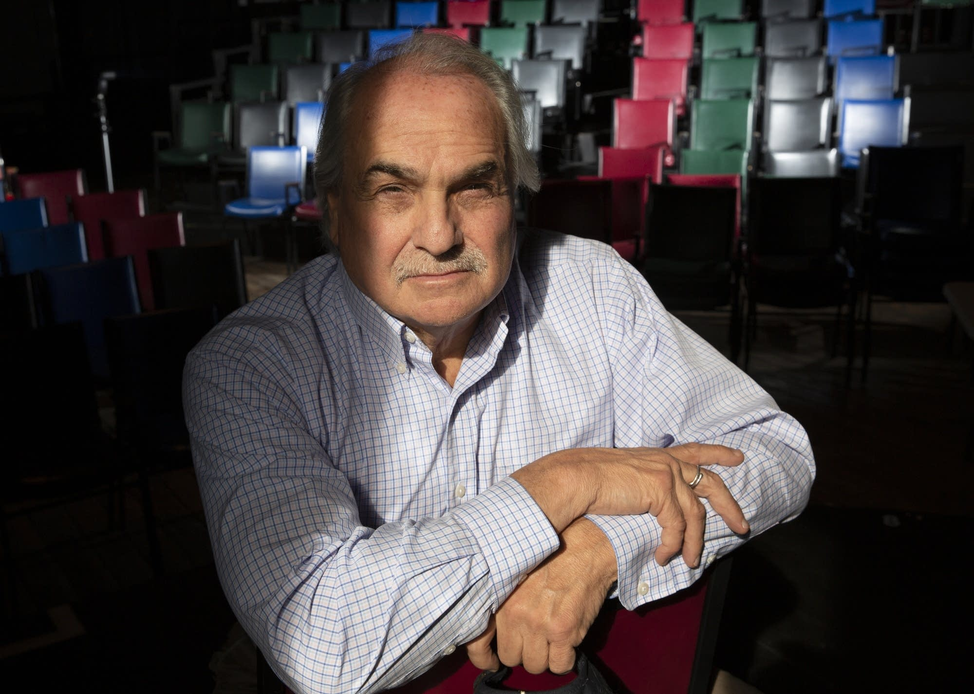 Jack Reuler founded Mixed Blood Theatre more than 40 years ago.