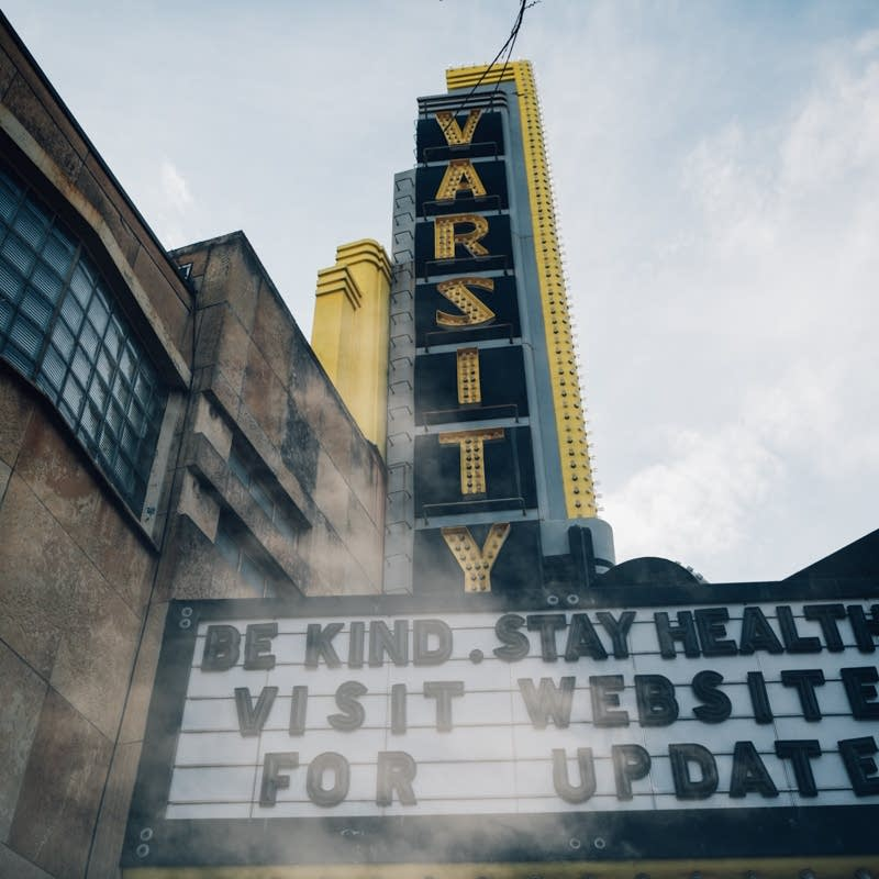 The Varsity Theater in Minneapolis.