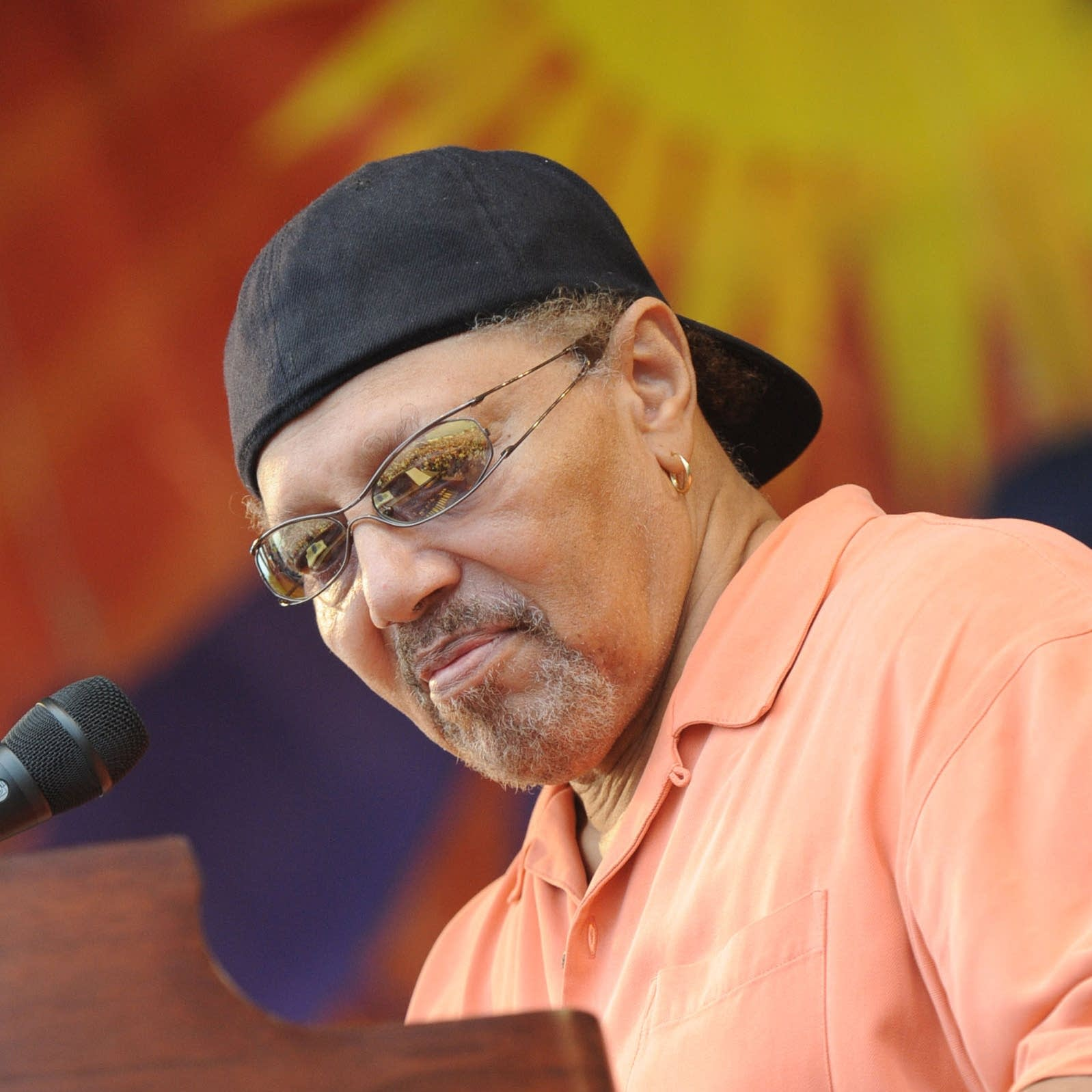 Art Neville performing in 2009