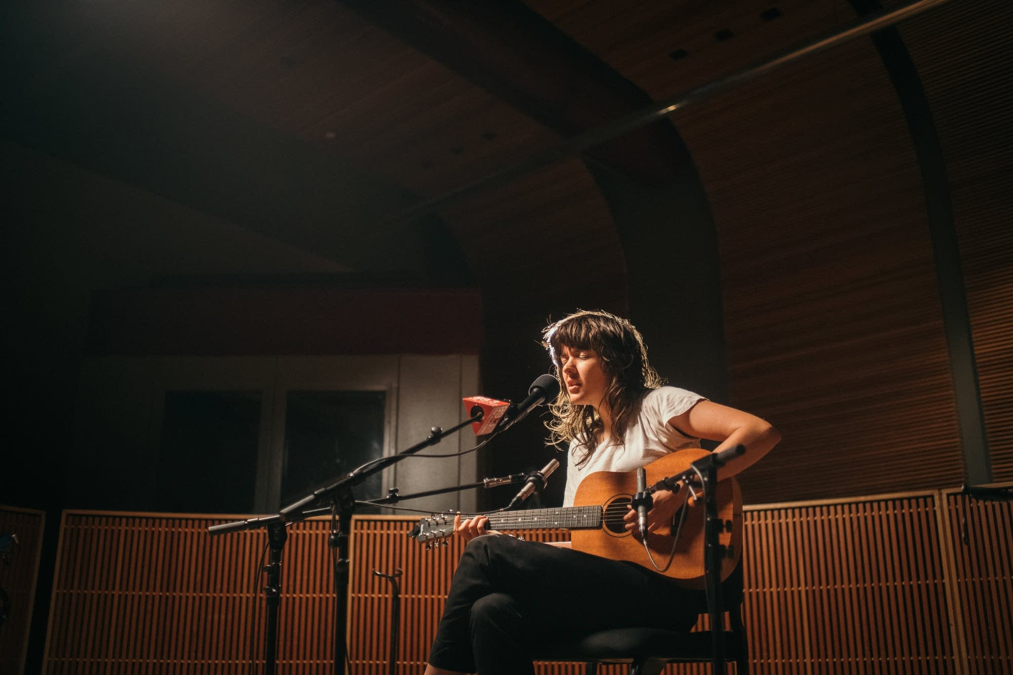 Courtney Barnett performs at The Current