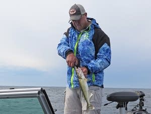 Tony Roach is a guide and co-chair of Mille Lacs Fisheries Advisory Comm.