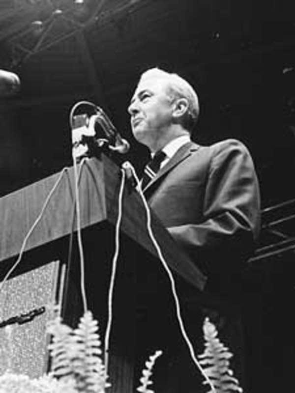 Eugene McCarthy in 1968