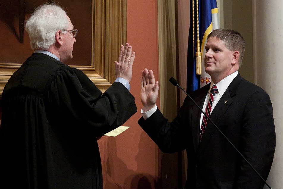 Zellers sworn in
