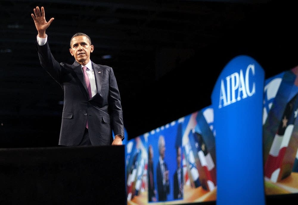 Obama speaks at AIPAC