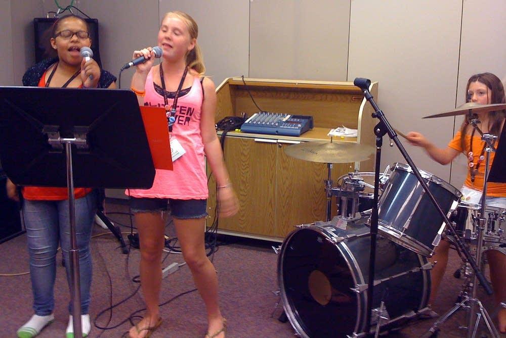 Rock practice