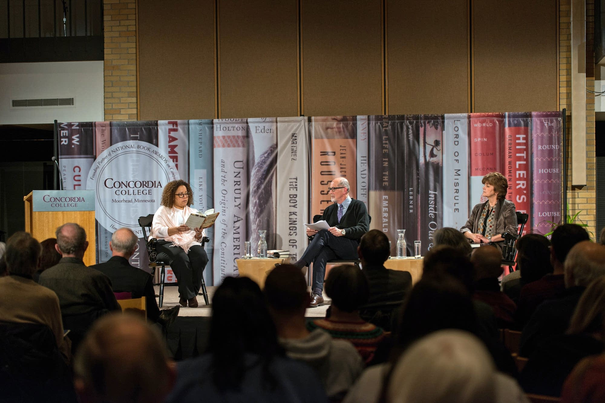 National Book Award event at Concordia College Moorhead March 15, 2018