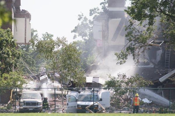 Minnehaha Academy Gas Explosion