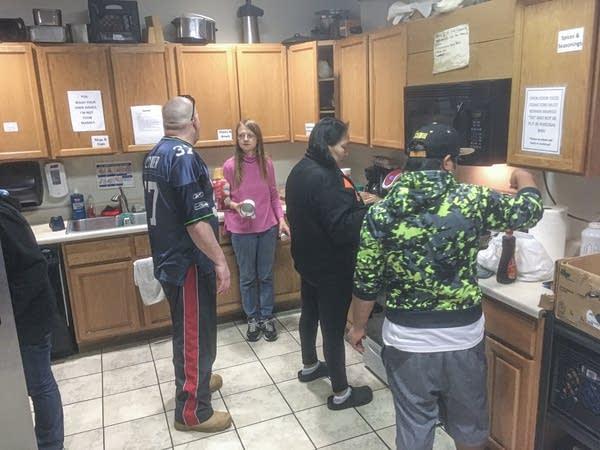 Open Doors family shelter in Spokane, Washington.