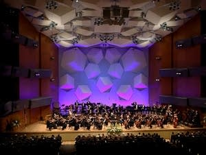 Minnesota Orchestra musicians play