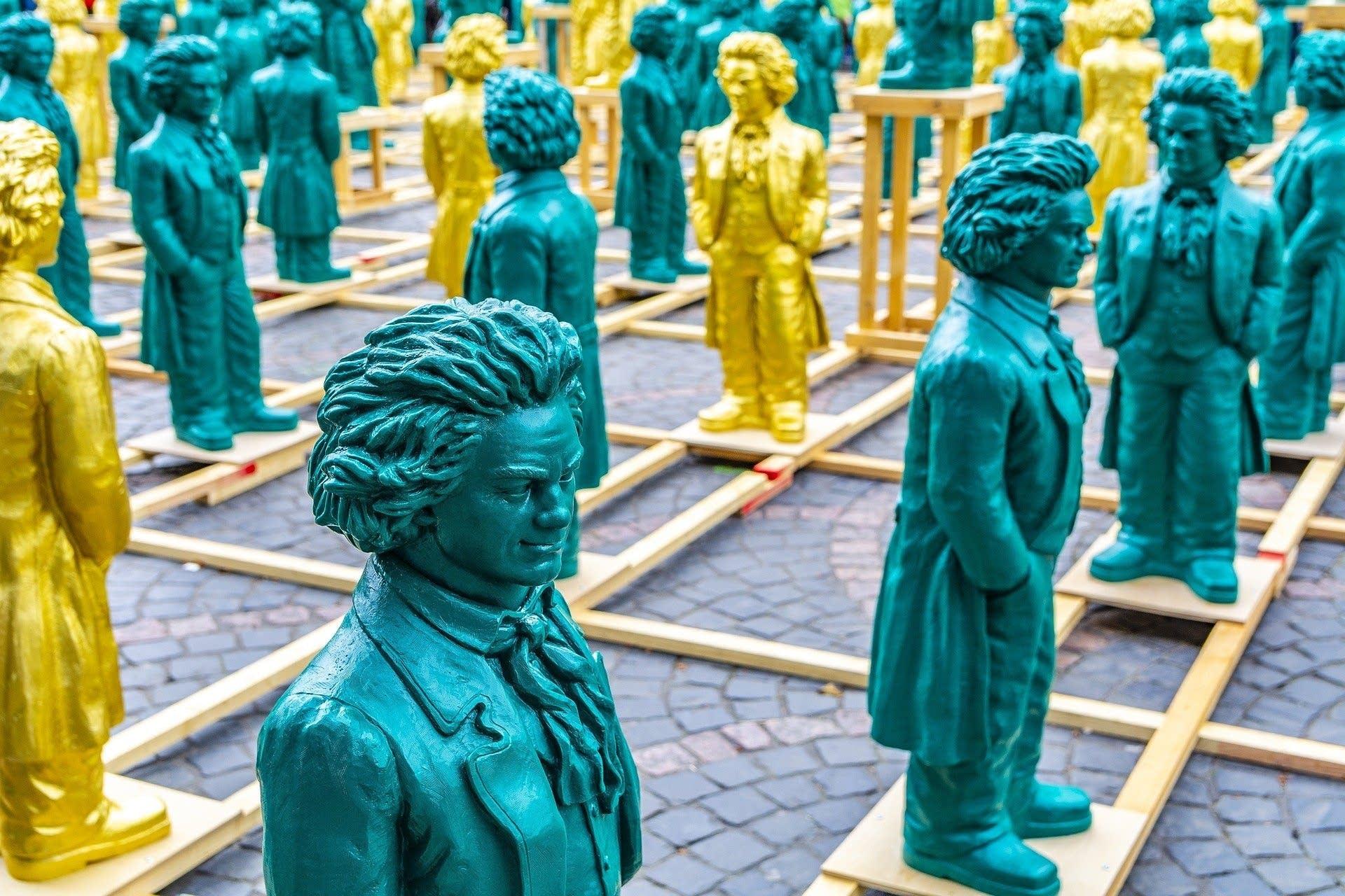 Beethoven sculptures