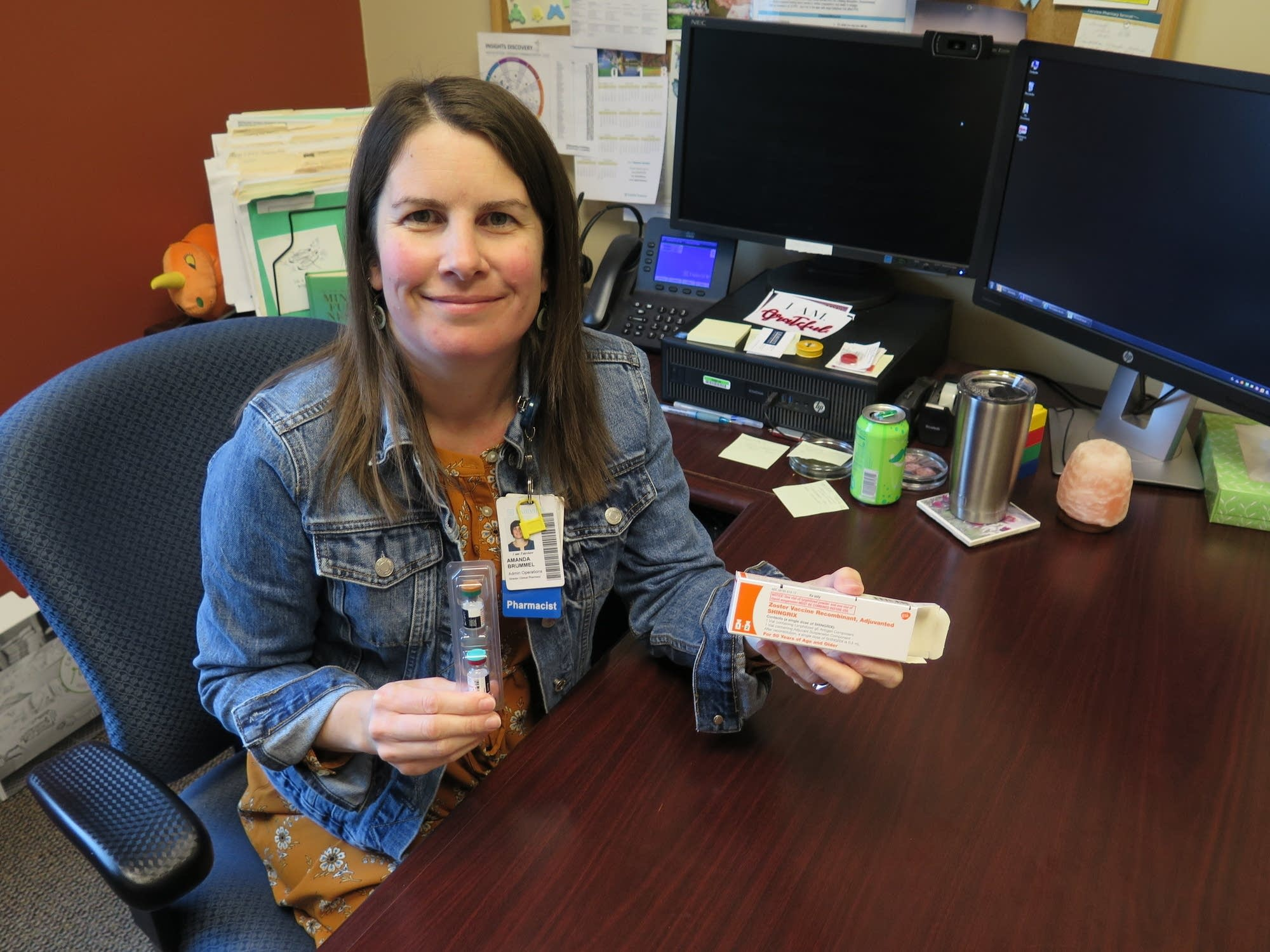 Amanda Brummel oversees pharmacies at Fairview's clinics