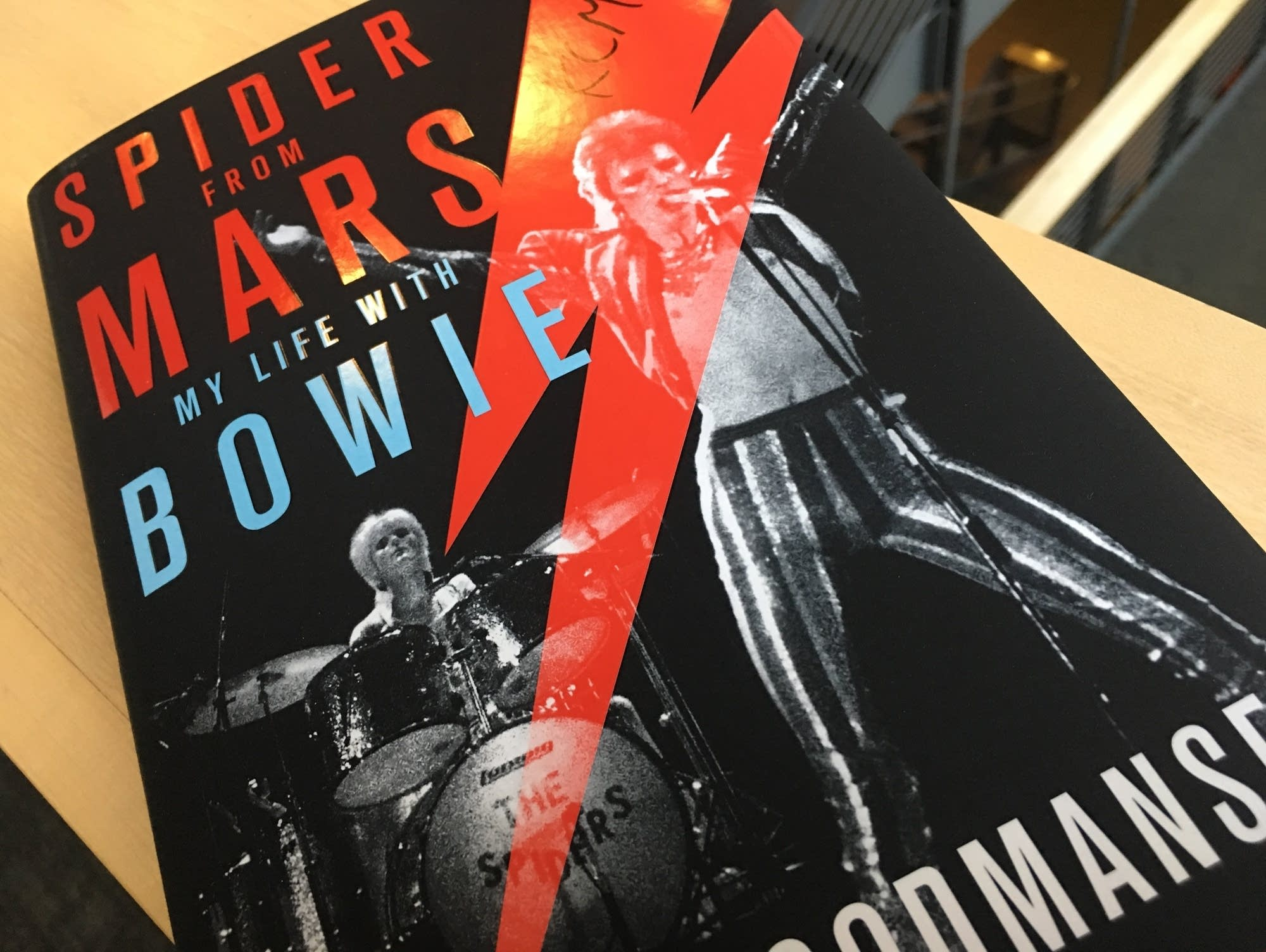 Woody Woodmansey's 'Spider from Mars'