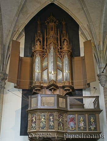 1511 van Covelens organ at Sint Laurenskerk, Alkmaar, The Netherlands