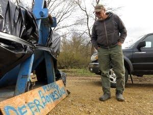 Doug Duren is a hunter and landowner in the driftless area of Wisconsin