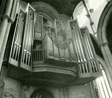 1984 Peter Collins organ at the Church of Saint Peter Mancroft, Norwich,...