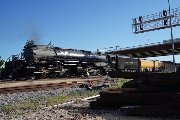 Big Boy' locomotive traveling across Minnesota | MPR News