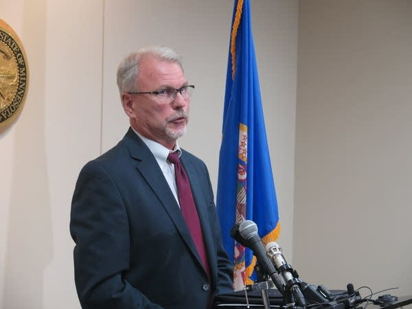 Minnesota Corrections Commissioner Tom Roy